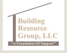 Building resource group header logo